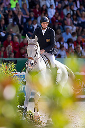Stuart Tinney, (AUS), Pluto Mio - Jumping Eventing - Alltech FEI World Equestrian Games™ 2014 - Normandy, France.<br /> © Hippo Foto Team - Leanjo De Koster<br /> 31-08-14