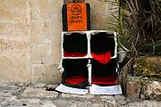 Cat's hotel Photographed in Tel Aviv, Israel