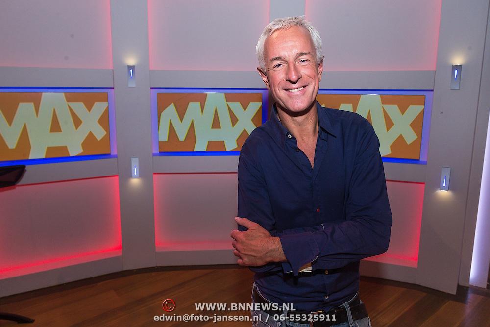 NLD/Hilversum/20130826 - najaarspresentatie 2013 omroep Max, Frank du Mosch