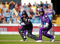 Cricket - 2021 Season - The Hundred: Women - Northern Superchargers vs Manchester Originals - Emerald Headingley, Leeds - Thursday 12th August 2021<br /> <br /> Cordelia Griffith of Manchester Originals at Emerald Headingley<br /> <br /> COLORSPORT/ALAN MARTIN