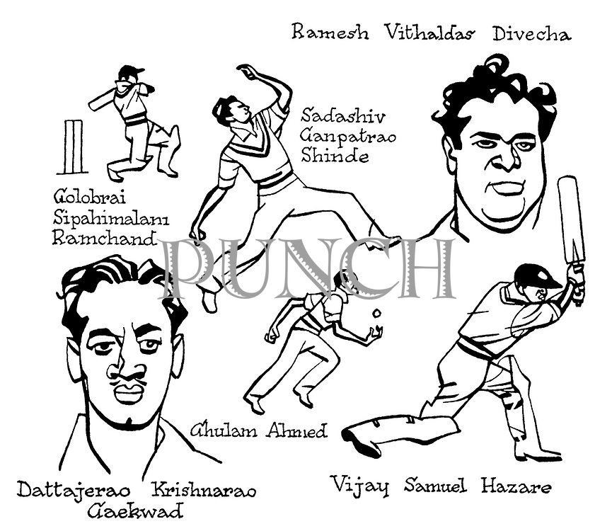 Notes for an Indian Summer ; Indian cricket tour , 1952<br />