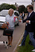 The Duchess of Cornwall ,her Jack Russell 'Tosca' Cornwall and Tom Parker Bowles.  Macmillan Dog Day in aid of Macmillan Cancer Relief. Royal Hospital Chelsea, 5 July 2005. ONE TIME USE ONLY - DO NOT ARCHIVE  © Copyright Photograph by Dafydd Jones 66 Stockwell Park Rd. London SW9 0DA Tel 020 7733 0108 www.dafjones.com