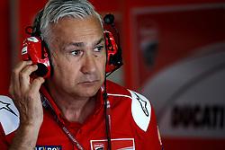 June 16, 2018 - Barcelona, Catalonia, Spain - Davide Tardozzi team manager of Ducati during the qualifying of the Gran Premi Monster Energy de Catalunya, Circuit of Catalunya, Montmelo, Spain.On 16 june of 2018. (Credit Image: © Jose Breton/NurPhoto via ZUMA Press)