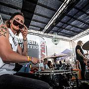 2019 06 08 Norje <br /> Sweden Rock Festival<br /> Mustasch<br /> <br /> Robban Bäck Drums<br /> <br /> <br /> FOTO : JOACHIM NYWALL KOD 0708840825_1<br /> COPYRIGHT JOACHIM NYWALL<br /> <br /> ***BETALBILD***<br /> Redovisas till <br /> NYWALL MEDIA AB<br /> Strandgatan 30<br /> 461 31 Trollhättan<br /> Prislista enl BLF , om inget annat avtalas.
