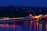 Lacey V. Murrow Floating Bridge, Interstate 90, Mercer Island