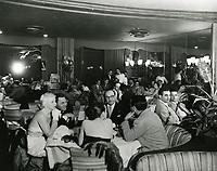 1952 Interior of Ciro's Nightclub on Sunset Blvd. in West Hollywood