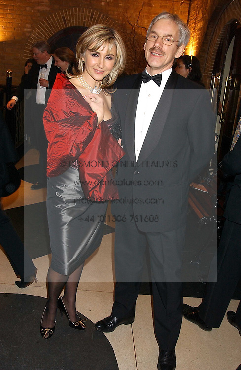 Opera singer LESLEY GARRETT and her husband PETER CHRISTEN at the 2005 Whitbread Book Awards 2005 held at The Brewery, Chiswell Street, London EC1 on 24th January 2006. The winner of the 2005 Book of the Year was Hilary Spurling for her biography 'Matisse the Master'.<br /> <br /> NON EXCLUSIVE - WORLD RIGHTS