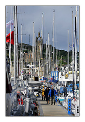 Brewin Dolphin Scottish Series 2011, Tarbert Loch Fyne - Yachting - Day 1 of the 4 day series...Tarbour Harbour Pontoons