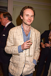 Lord Elcho at a party to celebrate the publication of Resolution by The Duke of Rutland and Emma Ellis held at Trinity House, Tower Hill, London England. 10 April 2017.