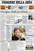 October 16, 2021 - EUR: Front-page: Today's Newspapers In Europe