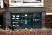 Nederland, Nijmegen, 16-11-2020 In de binnenstad van Nijmegen staan veel winkel en bedrijfspanden waaronder horeca leeg en te huur . Foto: ANP/ Hollandse Hoogte/ Flip Franssen