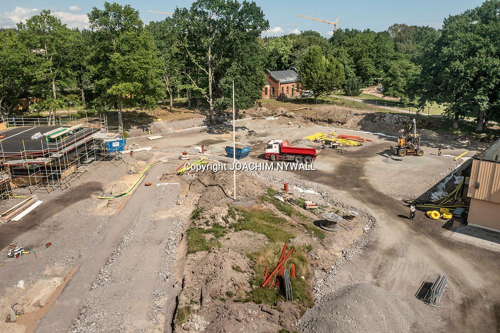 20210709 Trollhättan Hjulkvarnelund<br /> Renovering och ombyggnad av <br /> Folkets Park<br /> <br /> Foto o Copyright: Joachim Nywall