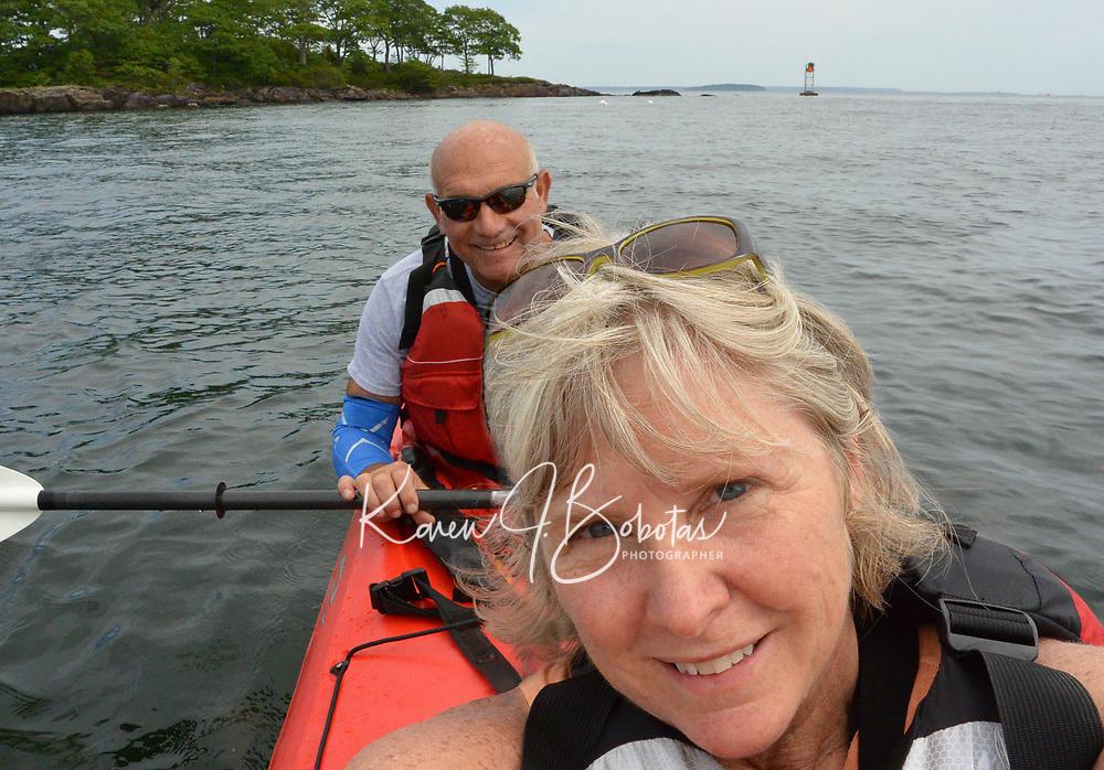 Camden Maine - Maiden Cliff  - Mount Battie - Camden Harbor