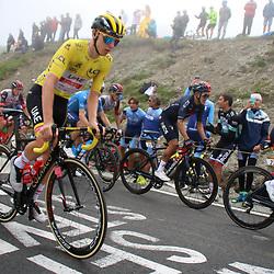 LUZ ARDIDEN (FRA) CYCLING: July 15<br /> 18th stage Tour de France Pau-Luz Ardiden<br /> Images from the Col du Tourmalet<br /> Tadej Pogacar