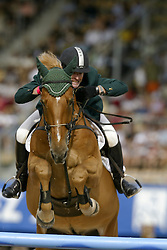 Babington Kevin, (IRL), Carling King<br /> Nations Cup 2<br /> World Equestrian Games Jerez de la Fronteira 2002<br /> Photo © Hippo Foto - Dirk Caremans