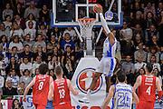DESCRIZIONE : Beko Legabasket Serie A 2015- 2016 Playoff Quarti di Finale Gara3 Dinamo Banco di Sardegna Sassari - Grissin Bon Reggio Emilia<br /> GIOCATORE : Kenneth Kadji<br /> CATEGORIA : Schiacciata Controcampo<br /> SQUADRA : Dinamo Banco di Sardegna Sassari<br /> EVENTO : Beko Legabasket Serie A 2015-2016 Playoff<br /> GARA : Quarti di Finale Gara3 Dinamo Banco di Sardegna Sassari - Grissin Bon Reggio Emilia<br /> DATA : 11/05/2016<br /> SPORT : Pallacanestro <br /> AUTORE : Agenzia Ciamillo-Castoria/L.Canu