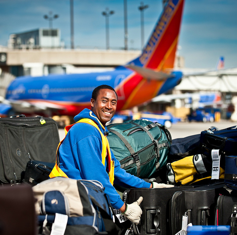 Baggage handler Southwest Airlines San Diego Airport