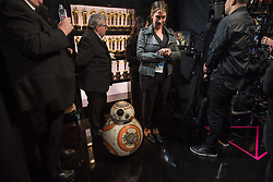 March 4, 2018 - Hollywood, California, U.S. - BB-8 backstage during the live ABC Telecast of The 90th Oscars at the Dolby Theatre in Hollywood. (Credit Image: ? Matt Petit/AMPAS via ZUMA Wire/ZUMAPRESS.com)