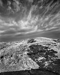 Glowing Cloud, lengthening Shadows, Canyonlands National Park