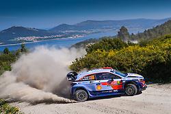 May 18, 2018 - Portugal - DANI SORDO during WRC 2018: Rally de Portugal: Day 1. (Credit Image: © Panoramic via ZUMA Press)