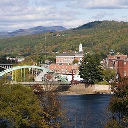 Rumford, Maine and the Androscoggin River.