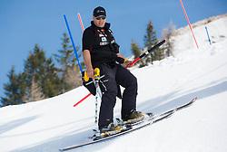 Andrej Mozina during Men's Super Combined Slovenian National Championship 2014, on April 1, 2014 in Krvavec, Slovenia. Photo by Vid Ponikvar / Sportida