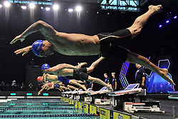 November 16, 2019, Beltsville, Washington, Maryland: Foto Gian Mattia D'Alberto/LaPresse.16 Novembre 2019 Beltsville, Washington (USA).Sport.International Swimming League, la prima giornata a Washington.Nella foto: Caeleb Dressel ..Photo Gian Mattia D'Alberto/LaPresse.November 16, 2019 Beltsville, Washington  (USA).Sport.International Swimming League, the first day in Washington.in the picture: Caeleb Dressel (Credit Image: © Gian Mattia D'Alberto/Lapresse via ZUMA Press)