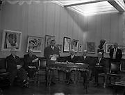 Exhibition of Contemporary Italian Art at Municipal Art Gallery, Dublin.15/02/1955