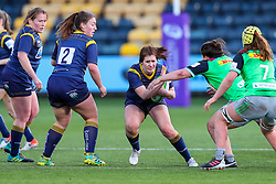 Meg Varley, making her 50th appearance for Worcester Warriors Women  - Mandatory by-line: Nick Browning/JMP - 20/12/2020 - RUGBY - Sixways Stadium - Worcester, England - Worcester Warriors Women v Harlequins Women - Allianz Premier 15s