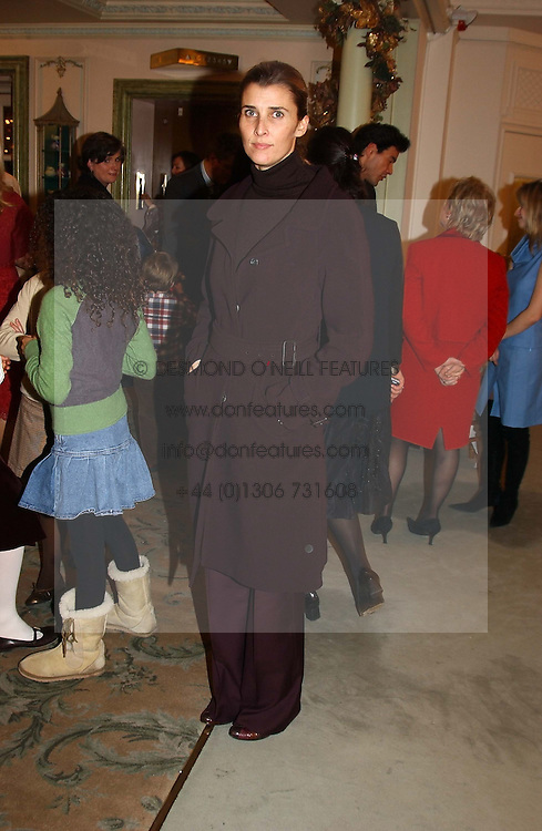 PRINCESS ROSSARIO OF BULGARIA  at a children's party in aid of the charity Over The Wall held at Fortnum & Mason, Piccadilly, London before a gala premiere of the new musical Mary Poppins at The Prince of Wales Theatre, Old Compton Street, London W1<br /><br />NON EXCLUSIVE - WORLD RIGHTS