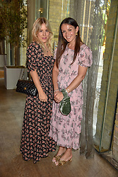 Sarah Louise Marks, photographer and Influencer and Leighanne Jones, Creative Director at Free People. at a cocktail and dinner hosted by fashion label Free People at Free People 38-39 Duke of York Square, Chelsea, London England. 21 May 2019.