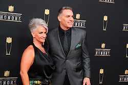 February 2, 2019 - Atlanta, GA, U.S. - ATLANTA, GA - FEBRUARY 02:  Kurt Warner poses for photos on the red carpet at the NFL Honors on February 2, 2019 at the Fox Theatre in Atlanta, GA. (Photo by Rich Graessle/Icon Sportswire) (Credit Image: © Rich Graessle/Icon SMI via ZUMA Press)