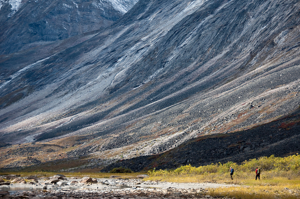 Tobey Carman, Kate Rutherford, Arrigetch Peaks, Brooks Range, AK