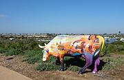 Cows 4 Camp Newport Beach Sculpture