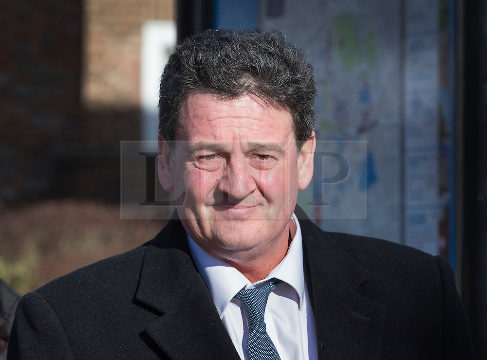 © Licensed to London News Pictures. 02/02/2016. Chichester, UK. Paul Price, father of Katie Price, is seen at Chichester Crown Court. Mr Price faces a charge of rape. Photo credit: Peter Macdiarmid/LNP
