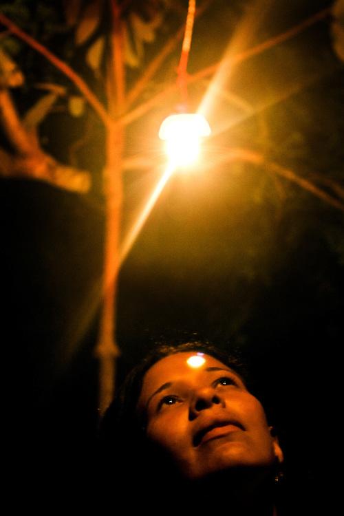 Curionopolis (Serra Pelada) _ PA, 09 Novembro de 2006....Retratos de ex garimpeiros da Serra Pelada.....Na foto: Ana.......Foto: BRUNO MAGALHAES / AGENCIA NITRO