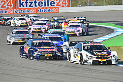 DTM Meister 2016 Marco Wittmann (BMW Team RMG) im Startkampf (Startnummer 11)  beim DTM Saisonfinale in Hockenheim<br /> <br />  / 161016<br /> <br /> ***German Touring Car Championship in Hockenheim, Germany, October 16, 2016 ***