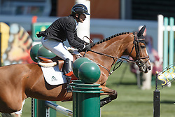 Lamaze Eric, (CAN), Fine Lady 5<br /> Telus Cup<br /> Spruce Meadows Masters - Calgary 2015<br /> © Hippo Foto - Dirk Caremans<br /> 09/09/15