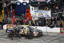 July 22, 2018 - Loudon, New Hampshire, United States of America - Matt DiBenedetto (32) comes down pit road for service during the Foxwoods Resort Casino 301 at New Hampshire Motor Speedway in Loudon, New Hampshire. (Credit Image: © Justin R. Noe Asp Inc/ASP via ZUMA Wire)