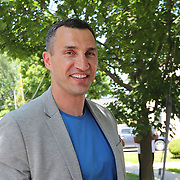 CANASTOTA, NY - JUNE 10:  Boxer Wladimir Klitschko is seen during the parade of champions at the International Boxing Hall of Fame for the Weekend of Champions induction event on June 10, 2018 in Canastota, New York. (Photo by Alex Menendez/Getty Images) *** Local Caption *** Wladimir Klitschko