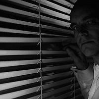 Mark Blundell, Strobist, Intruder self portrait