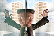 Charlie Brooker, author and columnist who has written a spoof Big Brother TV show