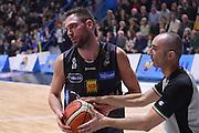 Filippo Baldi Rossi, arbitro<br /> Vanoli Cremona - Dolomiti Energia Aquila BasketTrento<br /> Lega Basket Serie A 2016/2017<br /> Cremona, 29/01/2017<br /> Foto Ciamillo-Castoria