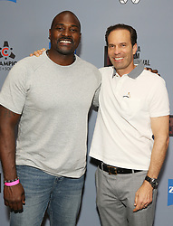 """Marcellus Wiley (L) and Michael A. Pierce at DTLA Film Festival """"INSIDE GAME"""" Los Angeles Premiere held at Regal LA Live on October 24, 2019 in Los Angeles, California, United States (Photo by © Michael Tran/VipEventPhotography.com"""