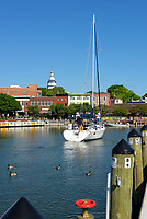 Historic Annapolis, Maryland, USA.