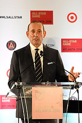 October 23, 2017 - Atlanta, GA, USA - Atlanta, Georgia - Monday, October 23, 2017. Major League Soccer announced their 2018 All Star Game will be hosted by Atlanta United at Mercedes Benz Stadium. (Credit Image: © Perry Mcintyre/ISIPhotos via ZUMA Wire)