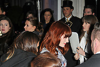 LONDON - FEBRUARY 13: Florence Welch attends the public relations disaster that was the outside arrivals at the ELLE Style Awards at the Savoy Hotel, London, UK on February 13, 2012. (Photo by Richard Goldschmidt)