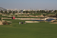 Looking down the 4th during the Preview of the Commercial Bank Qatar Masters 2020 at the Education City Golf Club, Doha, Qatar . 03/03/2020<br /> Picture: Golffile | Thos Caffrey<br /> <br /> <br /> All photo usage must carry mandatory copyright credit (© Golffile | Thos Caffrey)