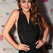 Bethan Wright is a actress attend the BritAsiaTV Presents Kuflink Punjabi Film Awards 2019 at Grosvenor House, Park Lane, London,United Kingdom. 30 March 2019