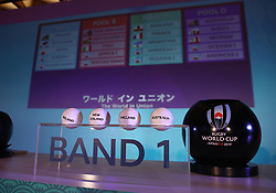 KYOTO, JAPAN - MAY 10: A general view during the Rugby World Cup 2019 Pool Draw at the Kyoto State Guest House on May 10, in Kyoto, Japan. Photo by Dave Rogers - World Rugby/PARSPIX/ABACAPRESS.COM